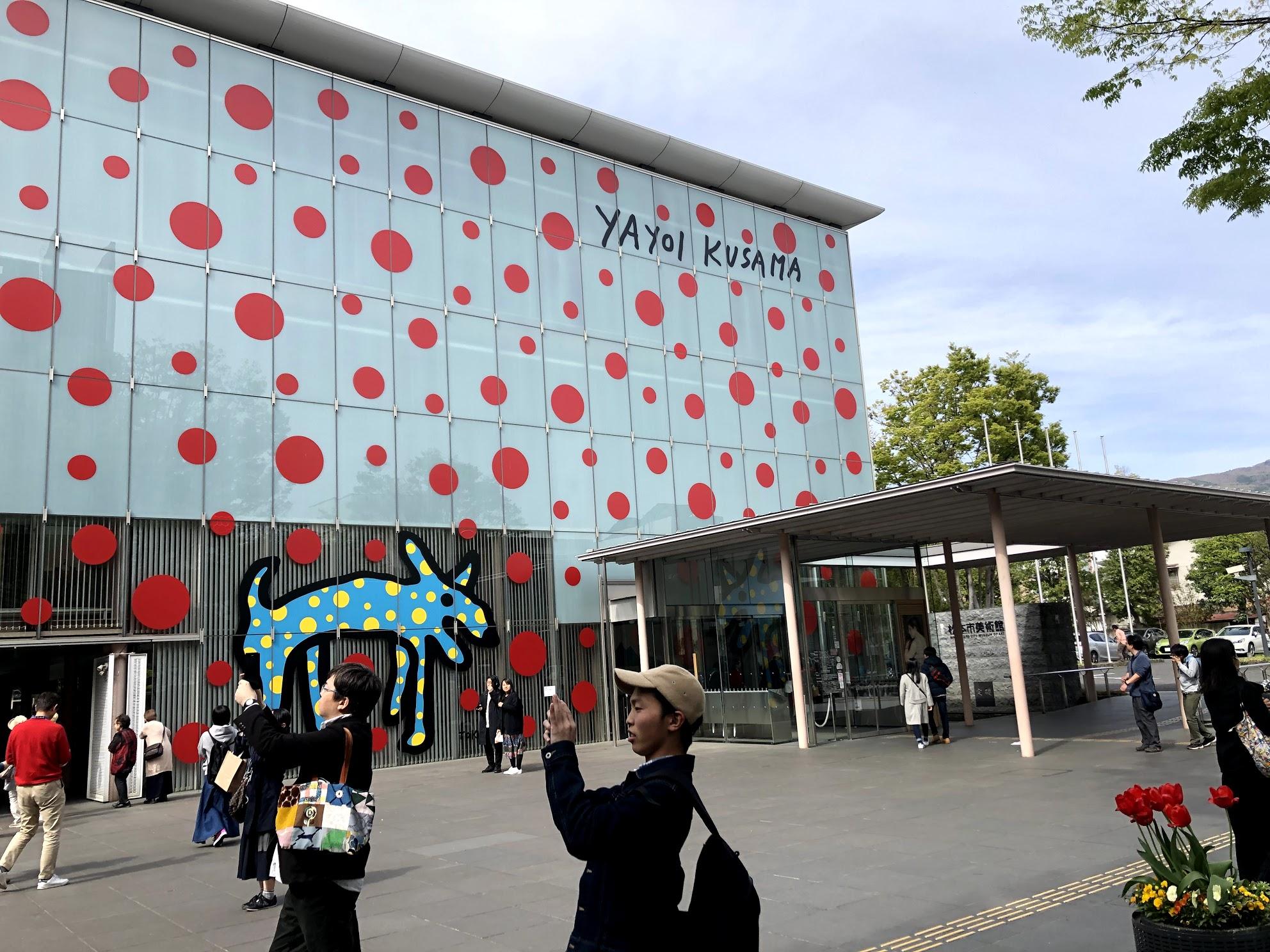 松本市美術館 壁面