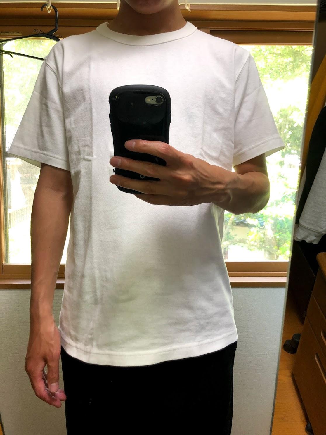 2019年ユニクロUTシャツのサイズ感