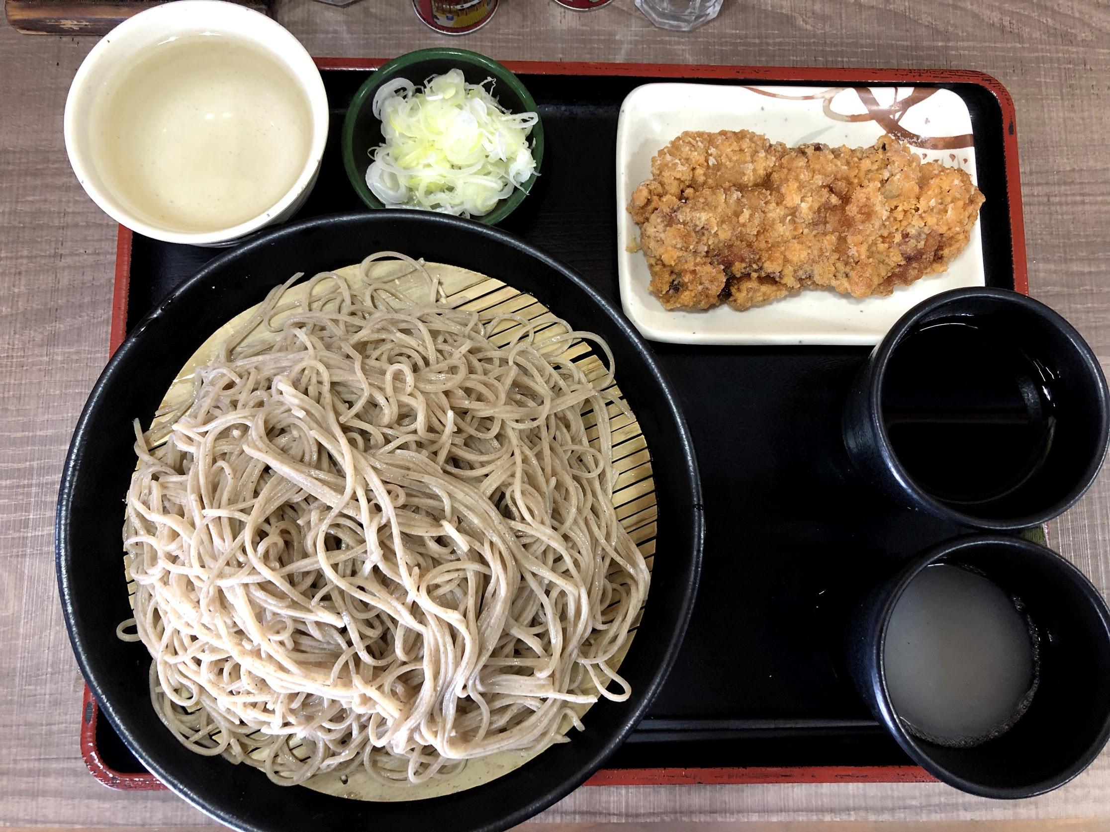 小木曽製麺所 ざるそば