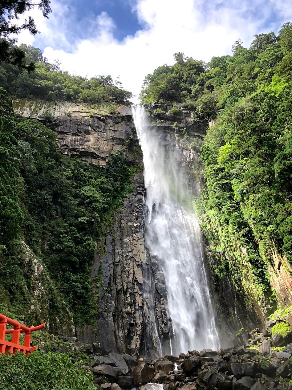 雨上がりの那智の滝