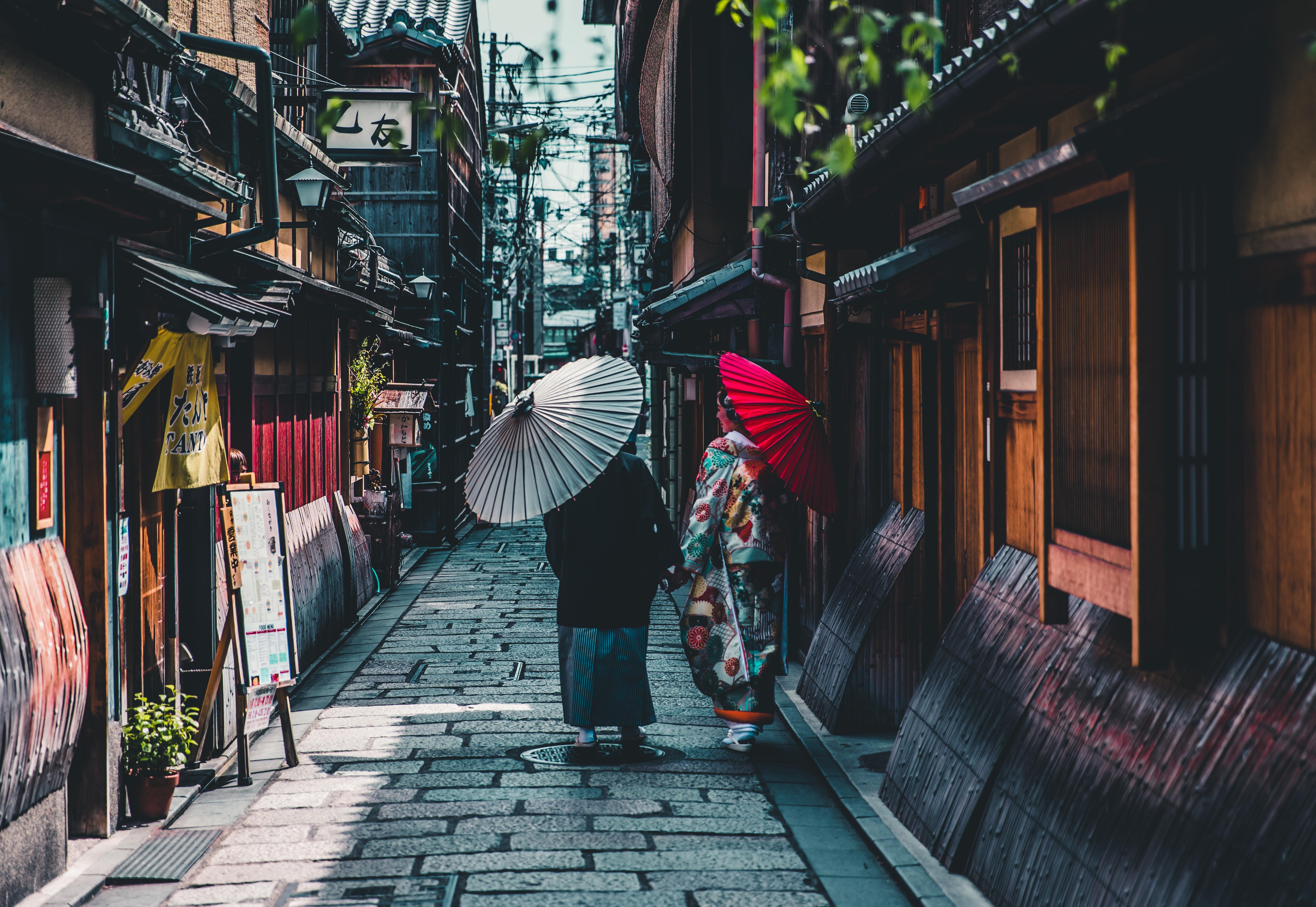 日本っぽい風景