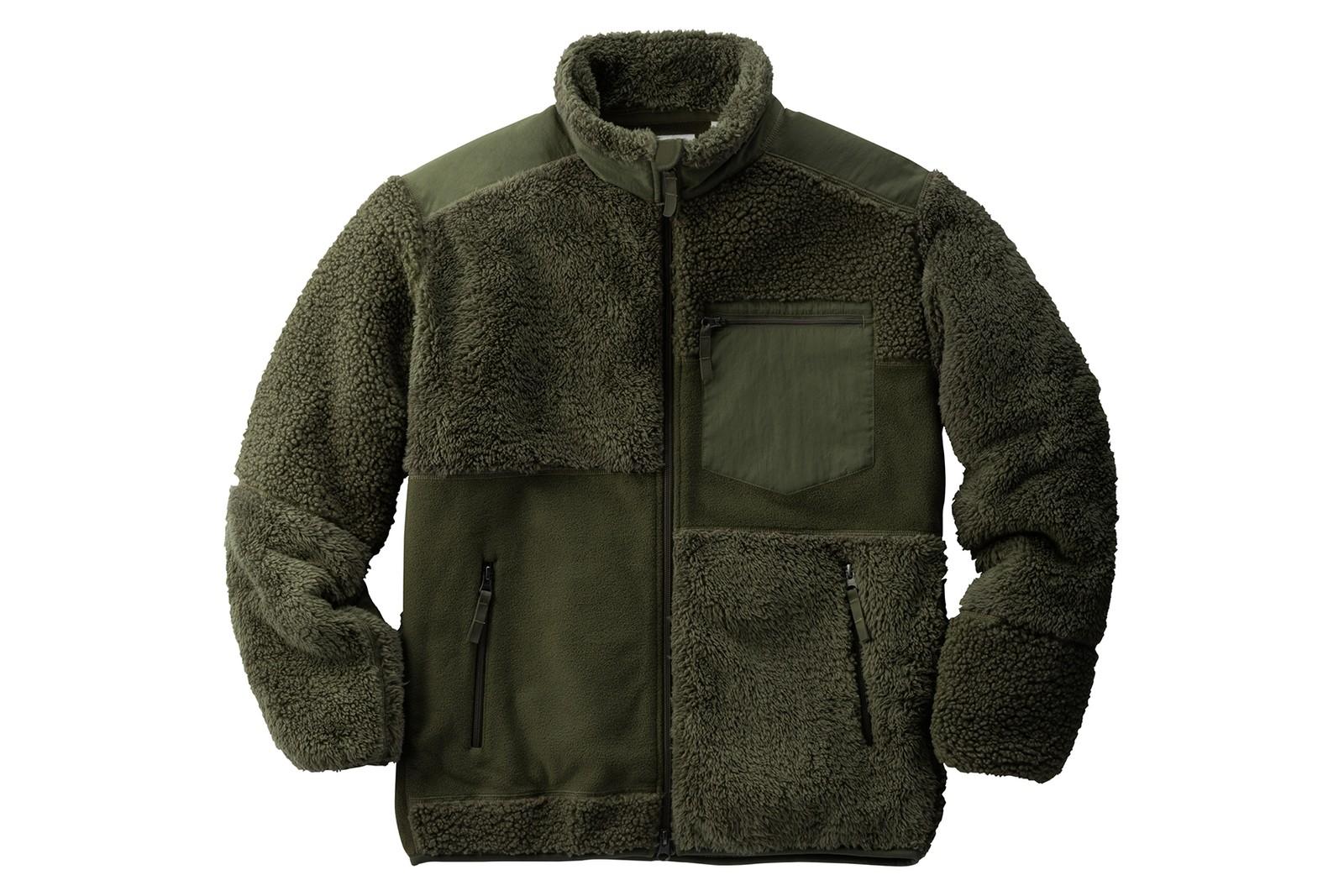 コラボレーションフリースジャケット