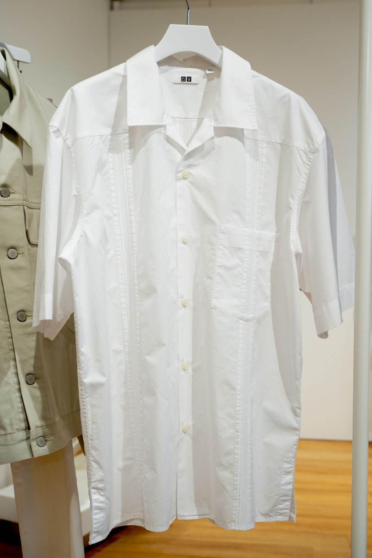 ユニクロU キューバシャツ