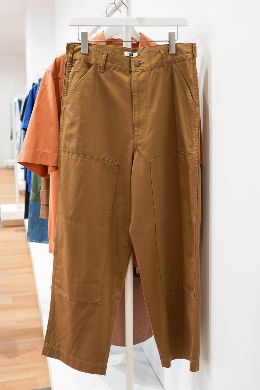 ユニクロU カーペンター風パンツ