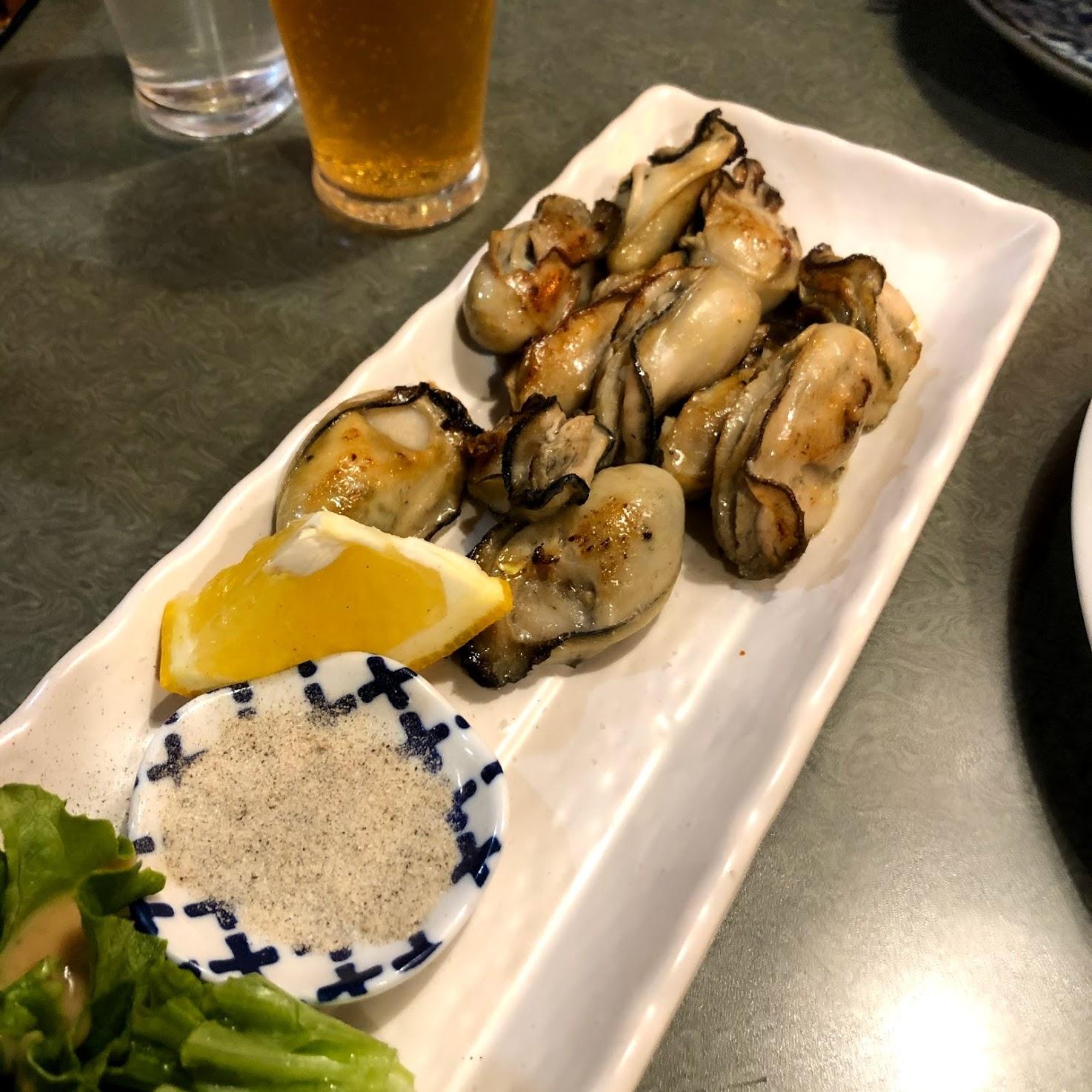うずしお 牡蠣のバター醤油焼き