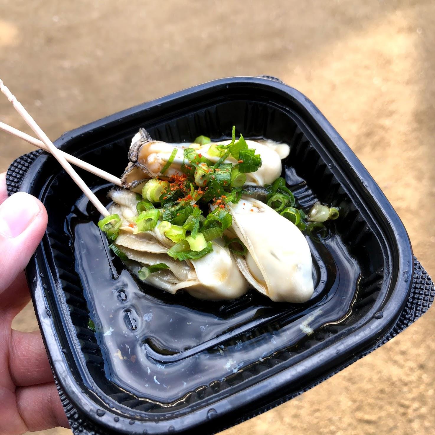 お食事処とりい 茹で牡蠣