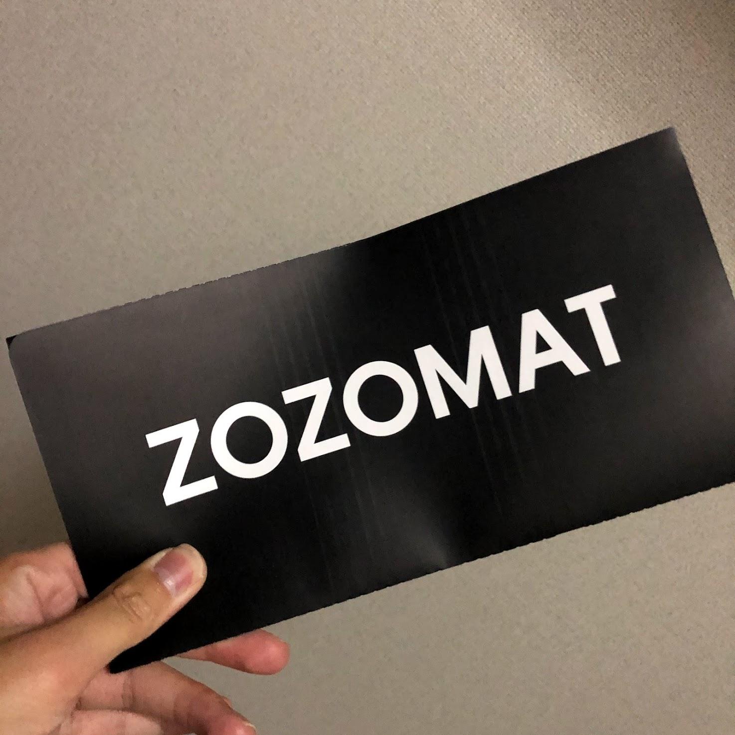 ZOZOMATは紙で出来ていた,,!