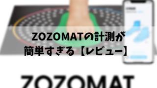 ZOZOMATの計測が簡単すぎる