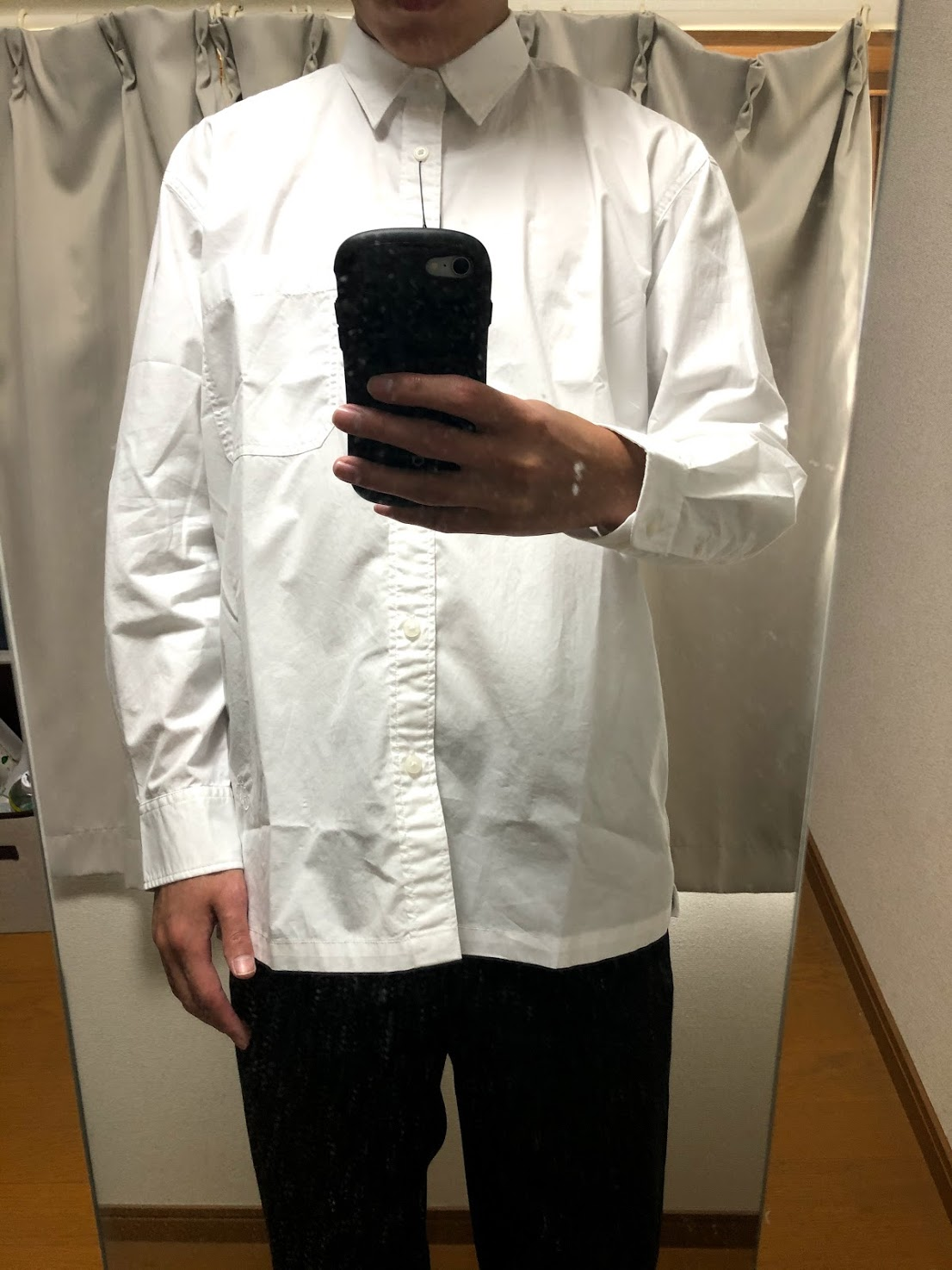JWアンダーソン 白シャツ サイズ感