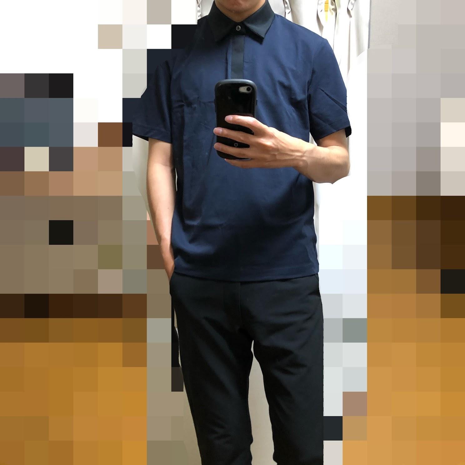 ユニクロ セオリー ポロシャツ着てみた
