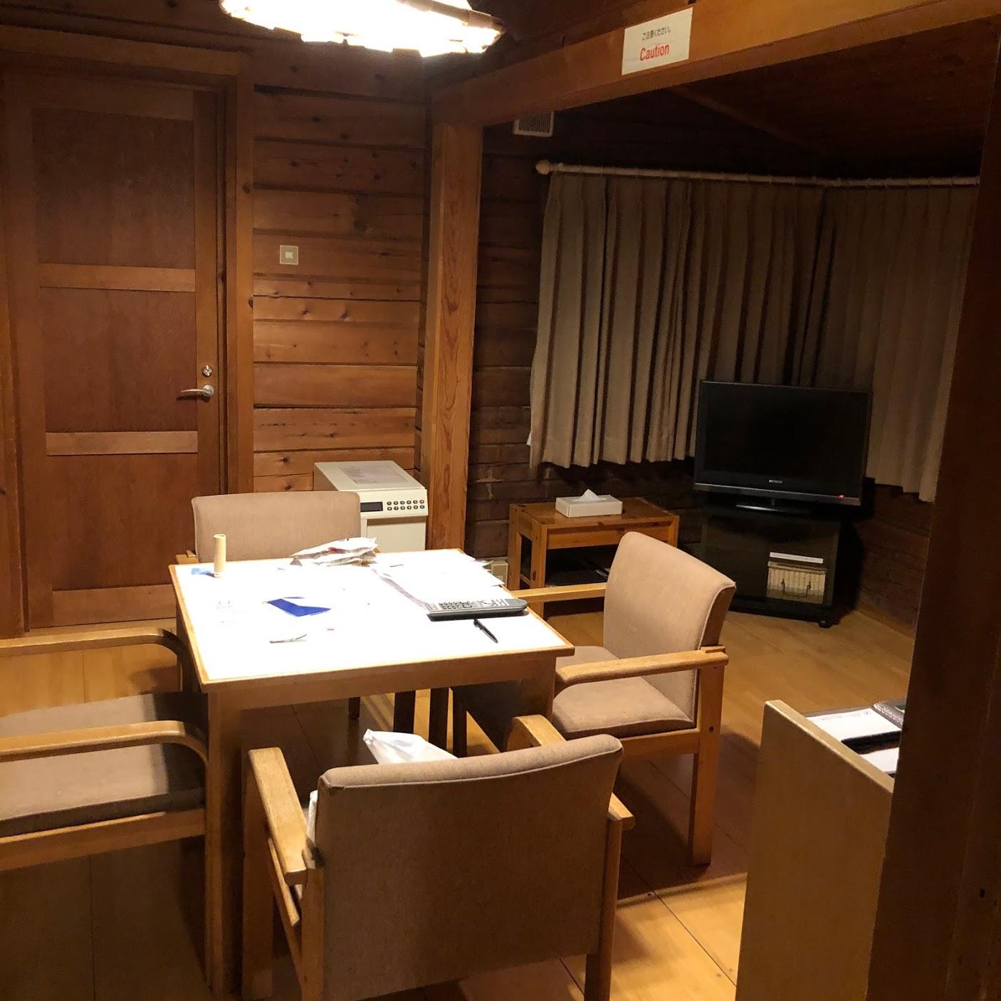 軽井沢プリンスホテル ウェストコテージ リビング